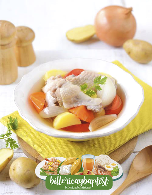 1 - สูตรซุปไก่ หายอ้วน