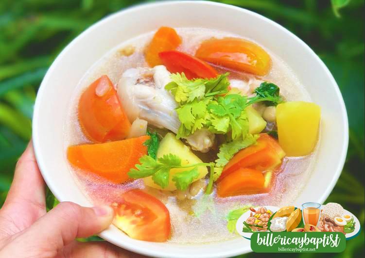 2 - สูตรซุปไก่ หายอ้วน