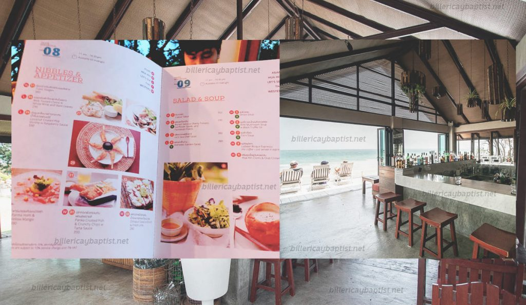 Lets Sea1 1024x594 - ร้านLet's Sea ร้านอาหารแนะนำในหัวหิน ที่มีบรรยากาศดี และอาหารอร่อยขึ้นชื่อ