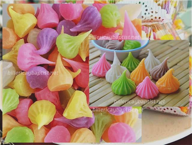 4 - อาลัว ขนมไทยโบราณสีสันสวยงาม รสชาติหวานละมุนลิ้น